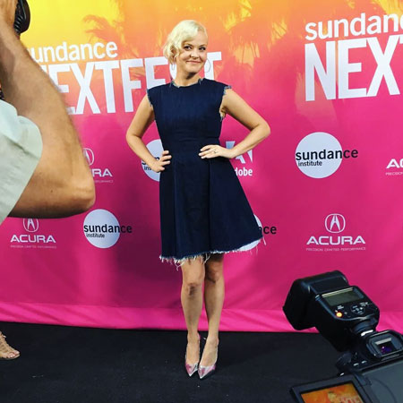 Kimmy Gatewood on the Red Carpet at Sundance NextFest