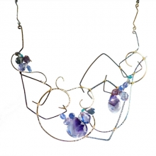 Nadia Larkspur Necklace